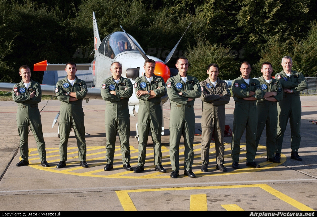 "Poland - Air Force ""Orlik Acrobatic Group"" 46 aircraft at Radom - Sadków"