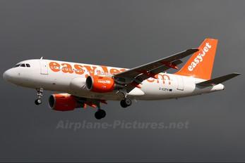 G-EZFH - easyJet Airbus A319