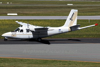 VH-FGZ - Fugro Airborne Surveys Aero Commander 500