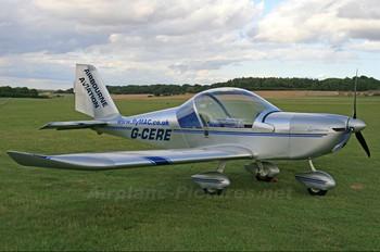 G-CERE - Private Evektor-Aerotechnik EV-97 Eurostar