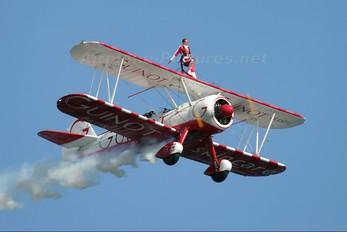 SE-BOG - Guinot Wingwalkers Boeing Stearman, Kaydet (all models)