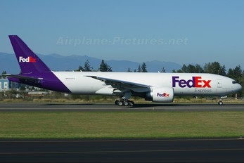 N850FD - FedEx Federal Express Boeing 777F