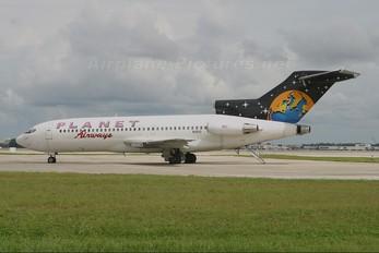 N1910 - Planet Airways Boeing 727-100