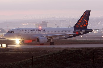 OO-SSP - Brussels Airlines Airbus A319