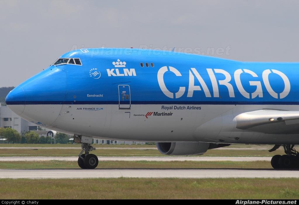 KLM Cargo PH-CKA aircraft at Kuala Lumpur Intl