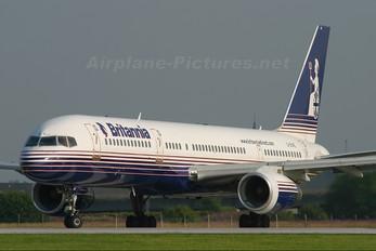 G-BYAE - Britannia Airways Boeing 757-200