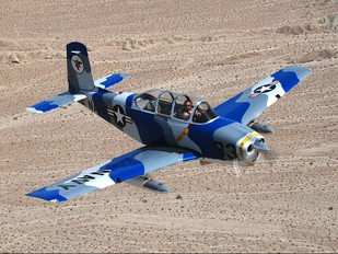 N34MT - Private Beechcraft T-34B Mentor