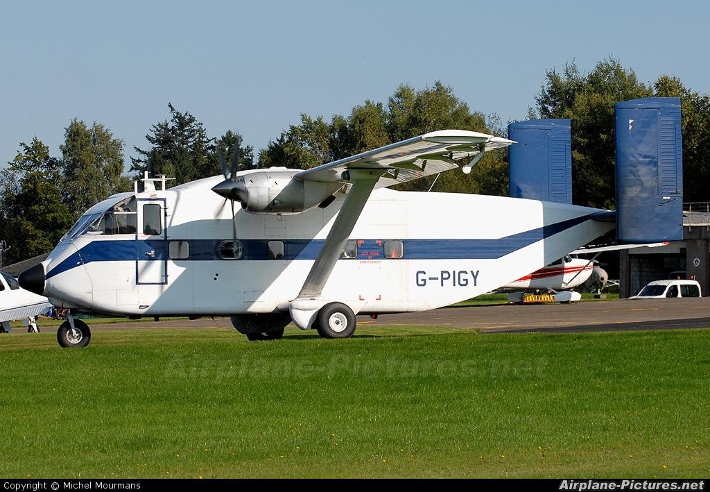 Invicta Aviation G-PIGY aircraft at Spa - La Sauveniere