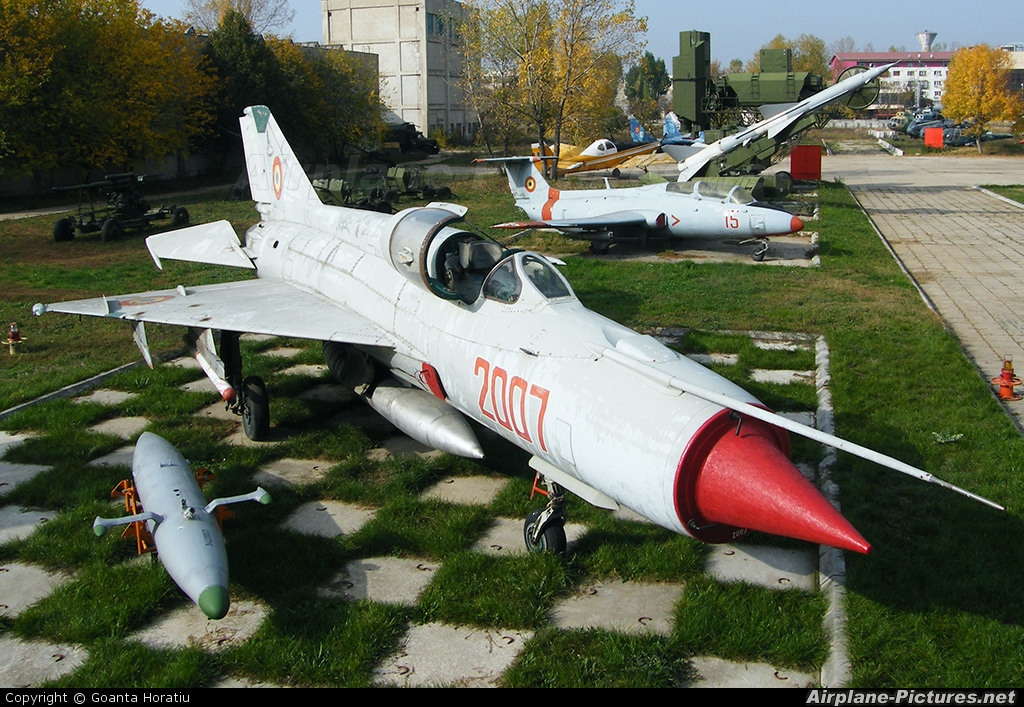 Romania - Air Force 2007 aircraft at Bucharest - Romanian AF Museum