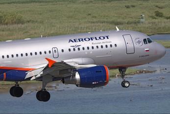 VQ-BBA - Aeroflot Airbus A319