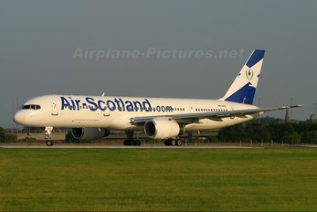 PH-AHS - Air Scotland Boeing 757-200