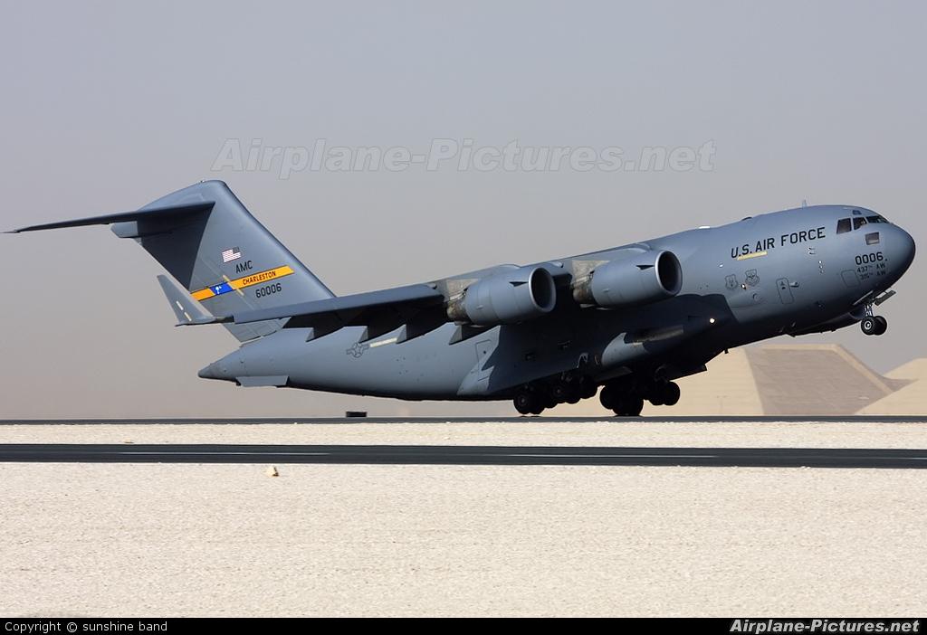 USA - Air Force 96-0006 aircraft at Al Udeid