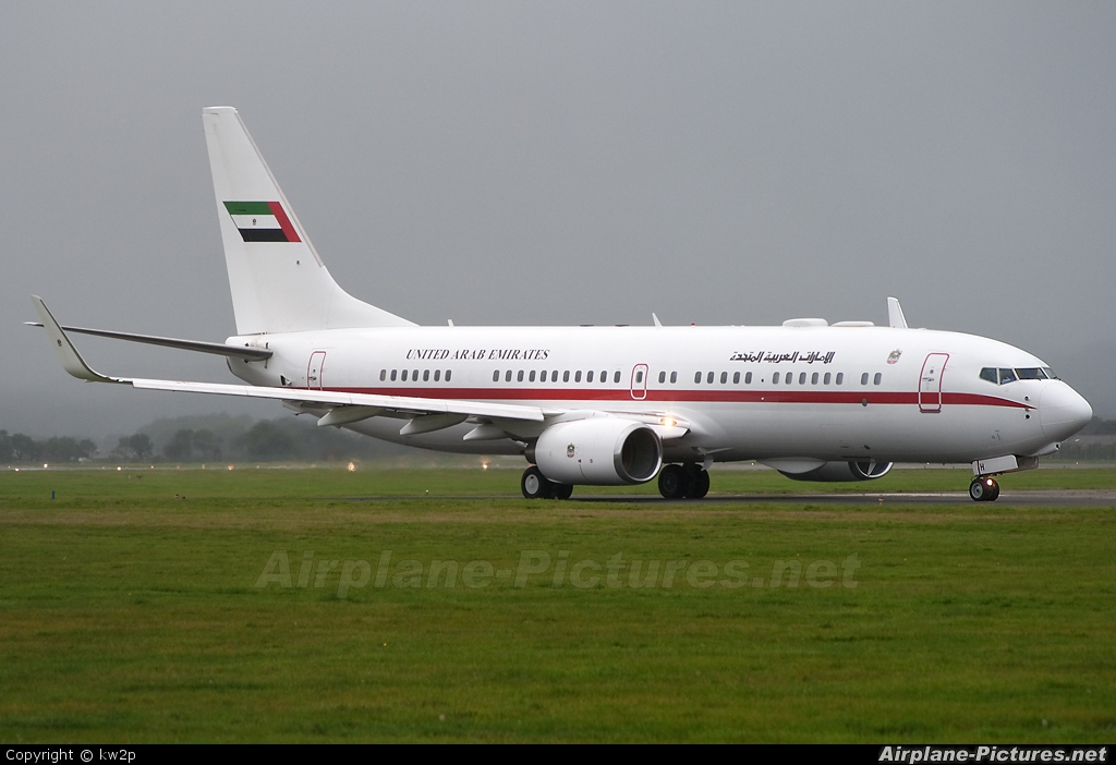 A6 auh united arab emirates government boeing 737 800 bbj at glasgow photo id 63948 - Emirates airlines paris office ...