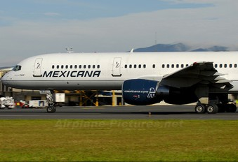 N763MX - Mexicana Boeing 757-200