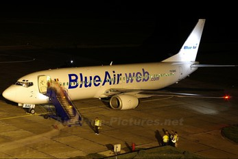YR-BAE - Blue Air Boeing 737-400