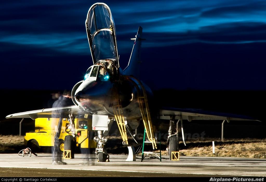 Argentina - Air Force C-438 aircraft at Río Gallegos, Piloto Civil Norberto Fernández