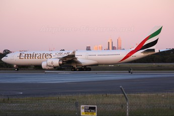 A6-ERB - Emirates Airlines Airbus A340-500