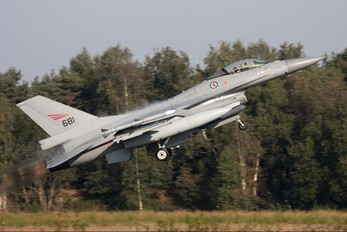 681 - Norway - Royal Norwegian Air Force General Dynamics F-16A Fighting Falcon