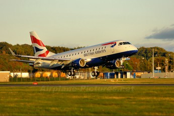 G-LCYE - British Airways - City Flyer Embraer ERJ-170 (170-100)