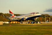 G-LCYE - British Airways - City Flyer Embraer ERJ-170 (170-100) aircraft