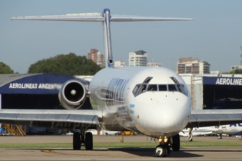 LV-WGN - Austral Lineas Aereas McDonnell Douglas MD-83