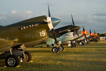 - - Private Curtiss P-40E Warhawk