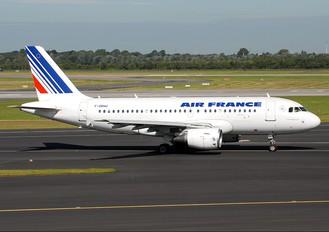 F-GRHU - Air France Airbus A319