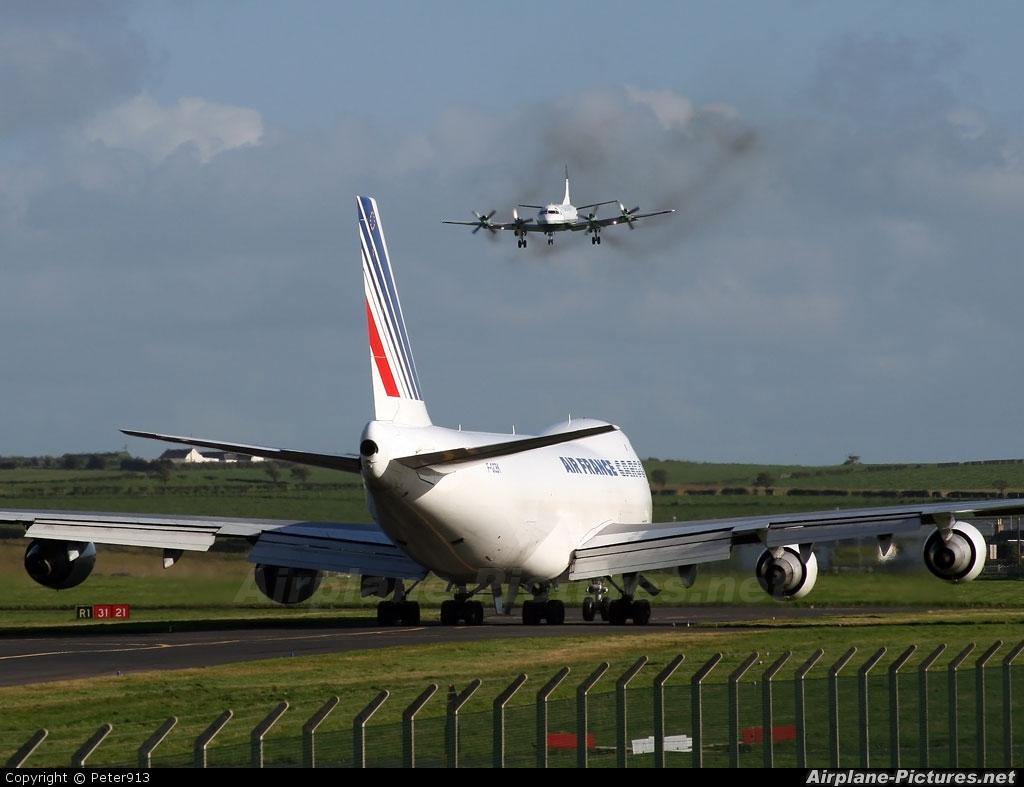 Air France Cargo G-GCDK aircraft at Prestwick