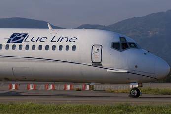 F-GMLI - Blue Line McDonnell Douglas MD-83