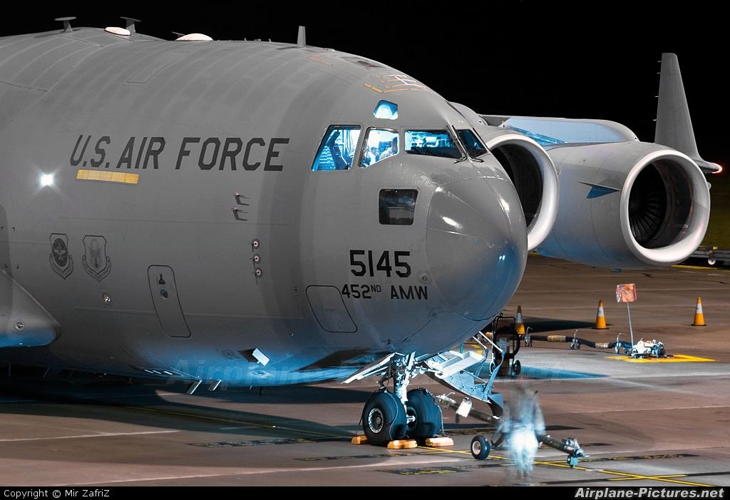 USA - Air Force 05-5145 aircraft at Perth, WA