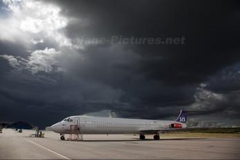 OY-KGZ - SAS - Scandinavian Airlines McDonnell Douglas MD-81