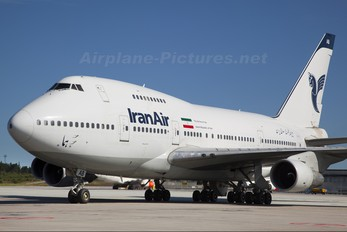 EP-IAB - Iran Air Boeing 747SP