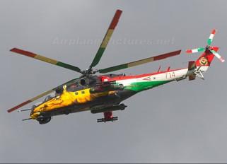 714 - Hungary - Air Force Mil Mi-24V