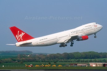 G-VIRG - Virgin Atlantic Boeing 747-200