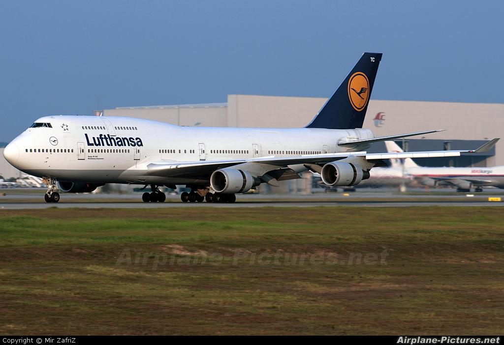 Lufthansa D-ABTC aircraft at Kuala Lumpur Intl