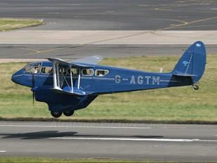 G-AGTM - Aviation Heritage de Havilland DH. 89 Dragon Rapide