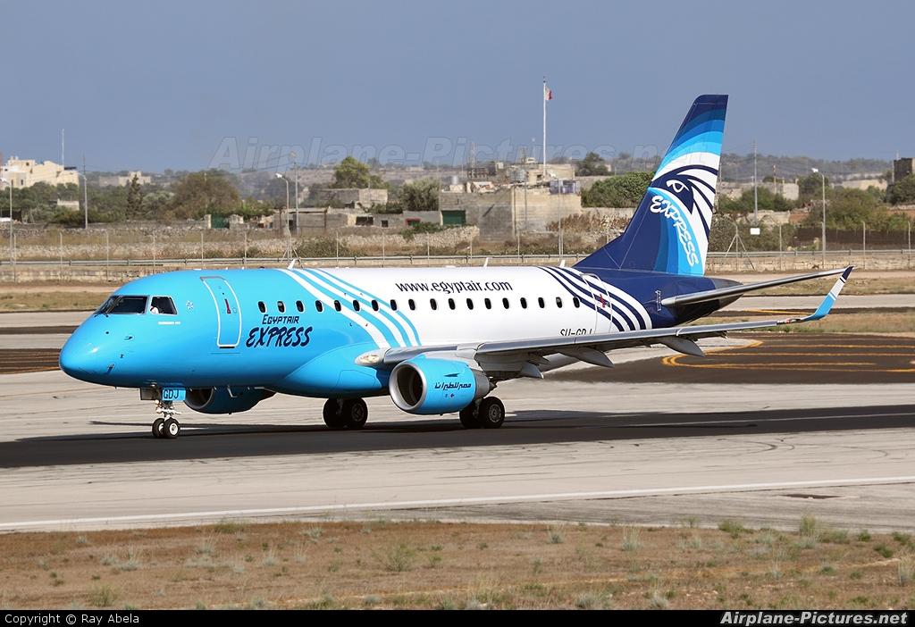 Egyptair Express SU-GDJ aircraft at Malta Intl