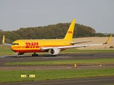G-DHLE - DHL Cargo Boeing 767-300F aircraft