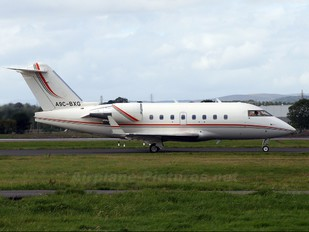A9C-BXG - Private Canadair CL-600 Challenger 604