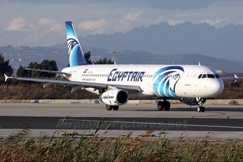 SU-GBT - Egyptair Airbus A321