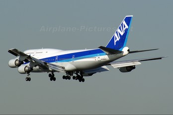JA8963 - ANA - All Nippon Airways Boeing 747-400