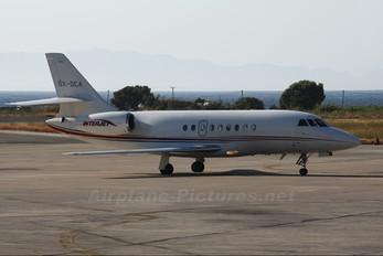 SX-DCA - Interjet Dassault Falcon 2000 DX, EX