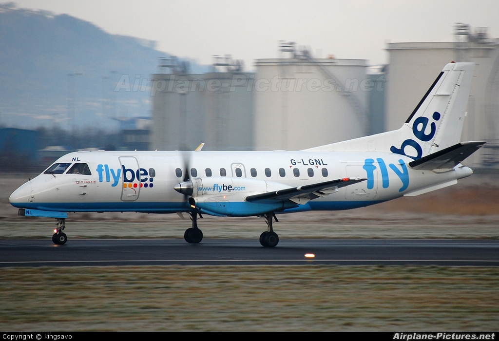 FlyBe - Loganair G-LGNL aircraft at Belfast City - George Best