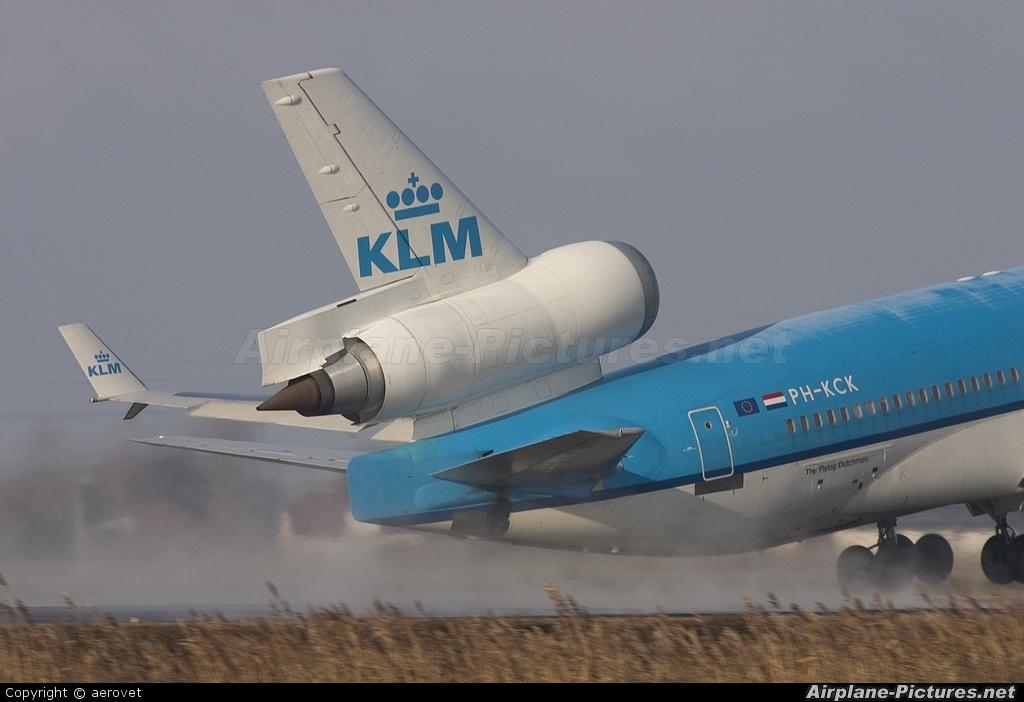 KLM PH-KCK aircraft at Amsterdam - Schiphol