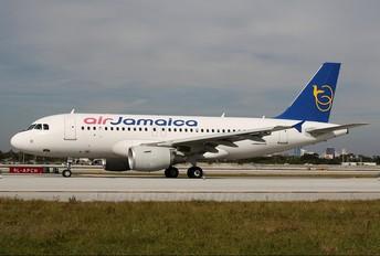 6Y-JAD - Air Jamaica Airbus A319