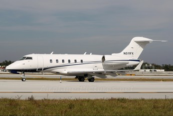 N511FX - Private Bombardier BD-100 Challenger 300 series