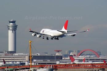 JA8910 - JAL - Japan Airlines Boeing 747-400
