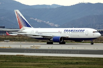 EI-CZD - Transaero Airlines Boeing 767-200ER