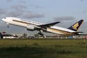9V-SVD - Singapore Airlines Boeing 777-200ER aircraft