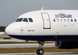 N552JB - JetBlue Airways Airbus A320